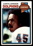 1979 Topps #493  Curtis Johnson  Front Thumbnail