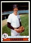 1979 Burger King #4  Ron Guidry  Front Thumbnail
