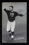 1948 Exhibits Black and White  Sid Luckman  Front Thumbnail