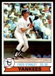 1979 Burger King #16  Fred Stanley  Front Thumbnail