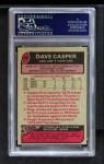 1977 Topps #380  Dave Casper  Back Thumbnail