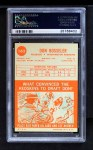 1963 Topps #162  Don Bosseler  Back Thumbnail