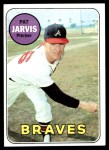 1969 Topps #282  Pat Jarvis  Front Thumbnail