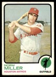 1973 Topps #637  Norm Miller  Front Thumbnail