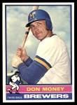 1976 Topps #402  Don Money  Front Thumbnail