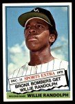 1976 Topps Traded #592 T Willie Randolph  Front Thumbnail