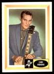 1960 Fleer Spins and Needles #54  Carl Perkins  Front Thumbnail