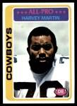 1978 Topps #110  Harvey Martin  Front Thumbnail