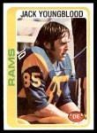 1978 Topps #265  Jack Youngblood  Front Thumbnail
