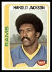 1978 Topps #105  Harold Jackson  Front Thumbnail