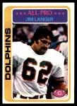 1978 Topps #70  Jim Langer  Front Thumbnail