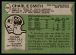 1978 Topps #259  Charlie Smith   Back Thumbnail