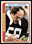 1978 Topps #282  Monte Johnson  Front Thumbnail