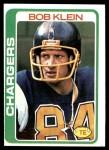 1978 Topps #187  Bob Klein  Front Thumbnail
