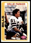 1978 Topps #176  Willie Parker  Front Thumbnail