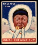 1947 Goudey Indian Gum #60   Nascapee Tribe Front Thumbnail