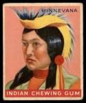 1947 Goudey Indian Gum #94   Minnevana Front Thumbnail