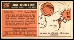 1965 Topps #83  Jim Norton  Back Thumbnail
