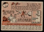 1958 Topps #74  Roy Face  Back Thumbnail
