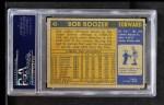 1971 Topps #43  Bob Boozer  Back Thumbnail