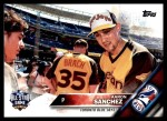 2016 Topps Update #227   -  Aaron Sanchez All-Star Front Thumbnail