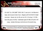 2016 Topps Update #278  Mark Melancon  Back Thumbnail