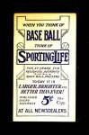 1910 M116 Sporting Life PAS Chief Bender  Back Thumbnail