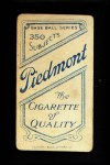 1909 T206 BAT Tim Jordan  Back Thumbnail