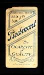 1909 T206  Jack Hayden  Back Thumbnail