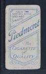 1909 T206 CAP Hooks Wiltse  Back Thumbnail