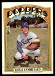 1972 Topps #759  Chris Cannizzaro  Front Thumbnail