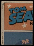1972 Topps #706   -  Pat Corrales In Action Back Thumbnail