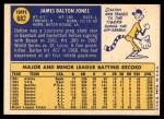 1970 Topps #682  Dalton Jones  Back Thumbnail