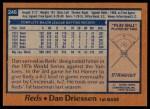 1978 Topps #246  Dan Driessen  Back Thumbnail