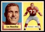 1957 Topps #6  Leo Nomellini  Front Thumbnail