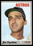 1970 Topps #598  Joe Pepitone  Front Thumbnail