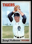 1970 Topps #592  Daryl Patterson  Front Thumbnail