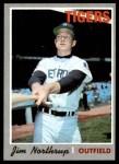 1970 Topps #177  Jim Northrup  Front Thumbnail
