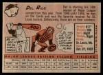 1958 Topps #51  Del Rice  Back Thumbnail