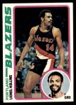 1978 Topps #74  Lionel Hollins  Front Thumbnail