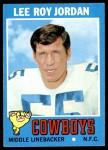 1971 Topps #31  Lee Roy Jordan  Front Thumbnail