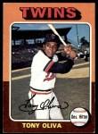 1975 Topps #325  Tony Oliva  Front Thumbnail