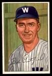 1952 Bowman #194  Bob Porterfield  Front Thumbnail