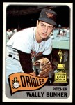 1965 Topps #290  Wally Bunker  Front Thumbnail