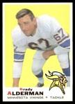 1969 Topps #239  Grady Alderman  Front Thumbnail
