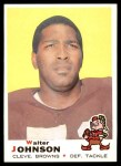 1969 Topps #165  Walter Johnson  Front Thumbnail
