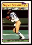 1981 Topps #524  Kellen Winslow  Front Thumbnail