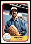 1981 Fleer #151  Elias Sosa  Front Thumbnail