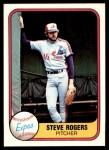 1981 Fleer #143  Steve Rogers  Front Thumbnail