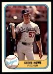 1981 Fleer #136  Steve Howe  Front Thumbnail